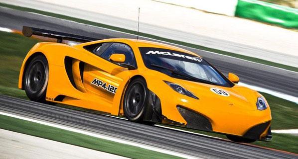 Llega el McLaren MP4-12C GT3