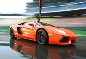 Lamborghini Aventador, una fiera