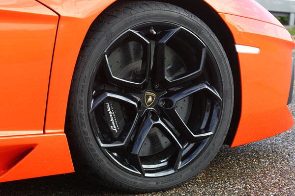 Lamborghini Aventador la prueba
