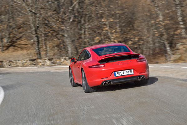 Porsche 911 Carrera S la prueba