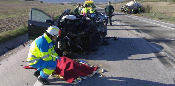 17 personas fallecieron en accidentes de tráfico