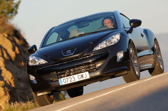 Peugeot RCZ, la prueba