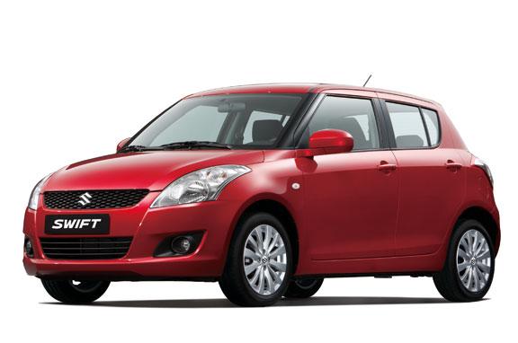 Suzuki Swift, el contacto