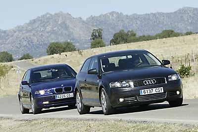 Audi A3 TDi / BMW 320d