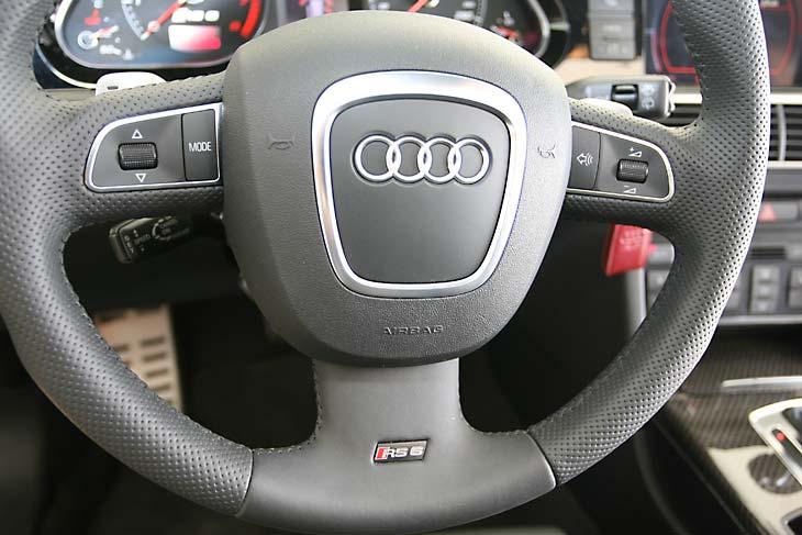 Audi RS6 Avant, a prueba