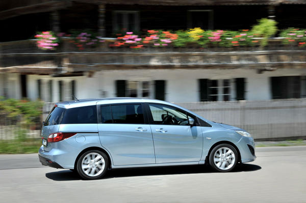 Mazda 5, siete plazas
