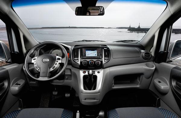 Nissan Evalia el contacto