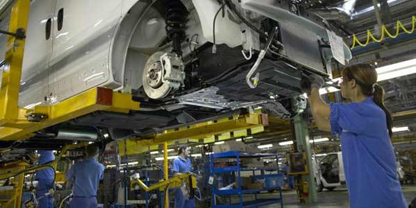 Nissan reduce su producción un 84 por ciento
