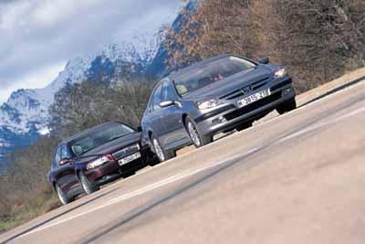 Comparativa: Peugeot 607 V6 / Volvo S80 2.9