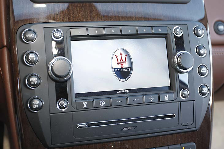 Maserati Quattroporte S detalle