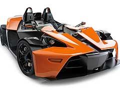 KTM X-Bow: el coche que se cree una moto