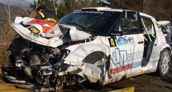 F1: Robert Kubica sufre un gravísimo accidente