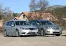 Saab 9-3 Sport Hatch 2.0t BioPower frente a Toyota Avensis Wagon 2.4 VVT-i