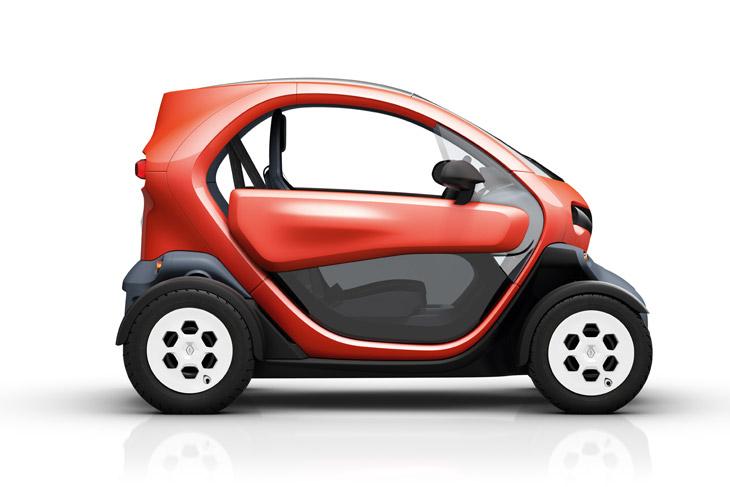 Renault Twizy, el contacto