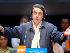 Fuerte repulsa a las palabras de Aznar