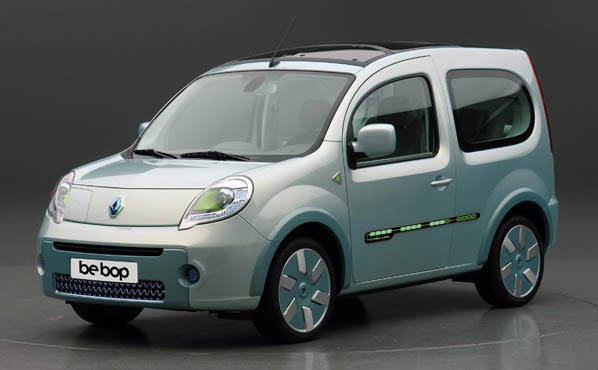 Renault Kangoo Be Bop Z.E., cero emisiones