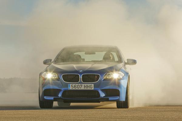 BMW M5 la prueba