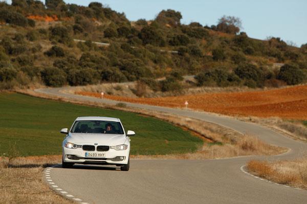 BMW 320d la prueba