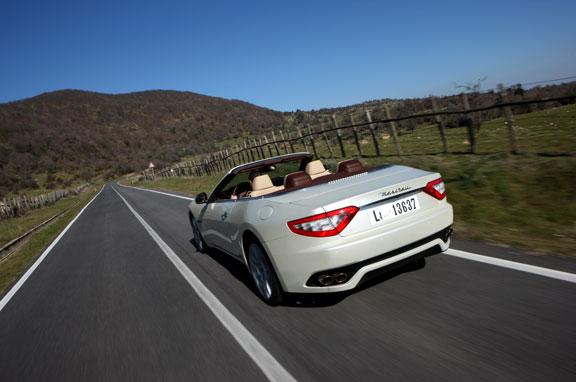 Así es el Maserati GranCabrio