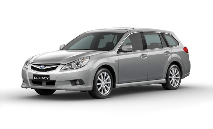Nuevos Subaru Legacy y Outback
