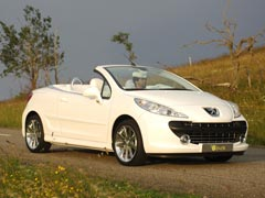 Peugeot 207 EPURE, germen del 207 CC