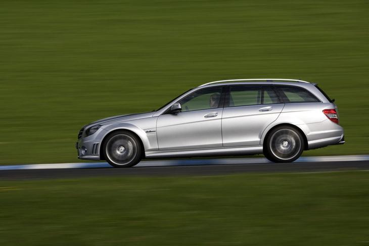 Mercedes C63 AMG Familiar