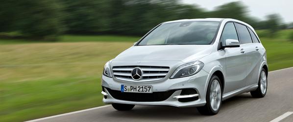 Mercedes B200 Natural Gas Drive
