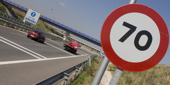 Las sanciones por no respetar las señales de tráfico