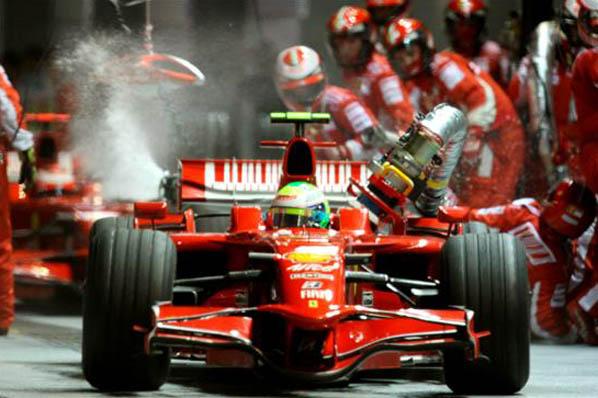 Ferrari se vuelve al 'chupachups'