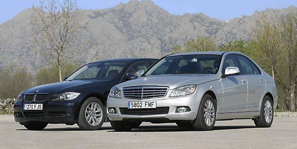 Mercedes y BMW suben las ventas