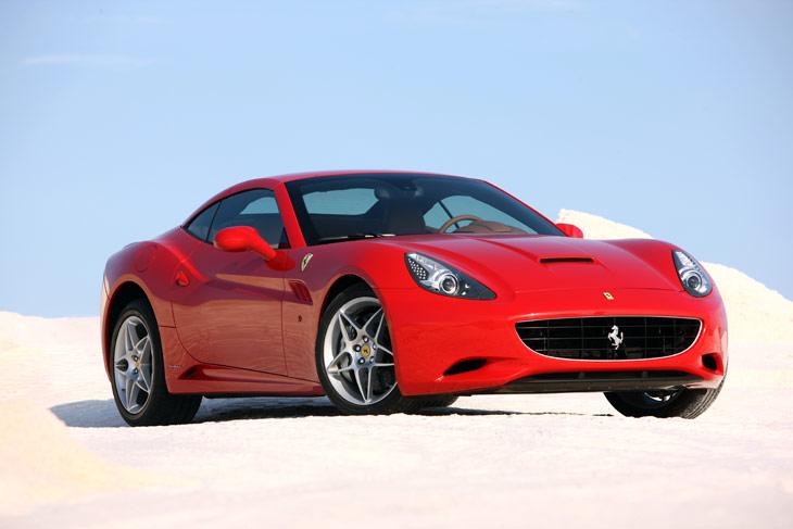 Ferrari California: exteriores