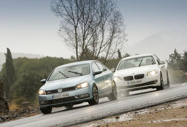 ¿Está el Passat a la altura del BMW Serie 5?