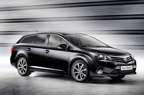 Nuevo Toyota Avensis 2012