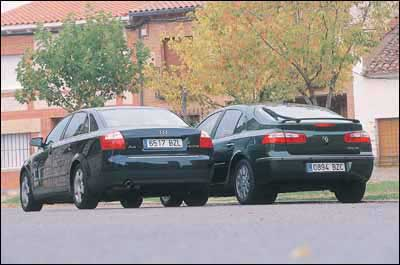 Audi A4 2.0 FSI / Renault Laguna 2.0 16v Privilege