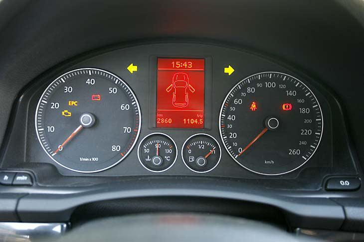 VW Golf TDI frente a TSI: interiores