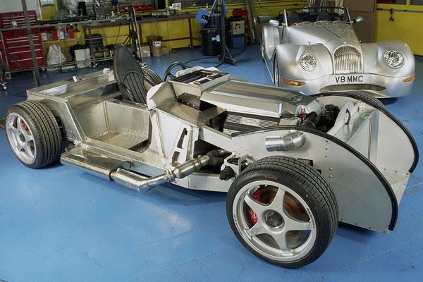 Morgan Plus E Roadster Concept