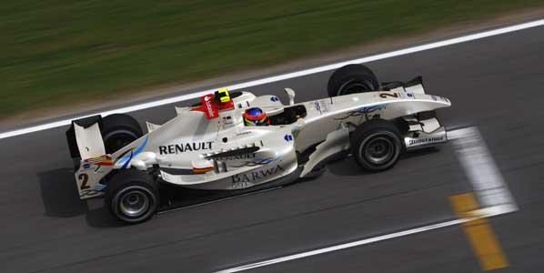 La pole para Grosjean