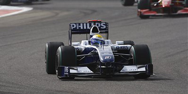 Williams domina sin combustible