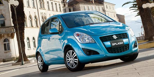 Aires nuevos para el Suzuki Splash