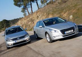 Peugeot 508 2.0 HDI vs Volkswagen Passat 2.0 TDI