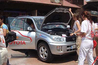 Pruebas selección Raid Femenino Toyota