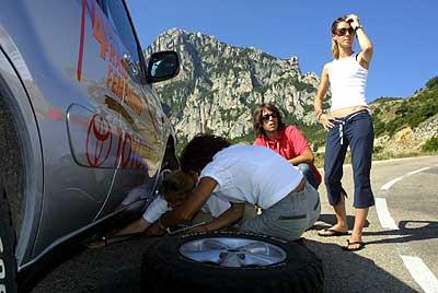 Raid Femenino Toyota 2003