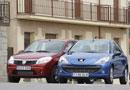 Dacia Sandero 1.5 dCi y Peugeot 206+ 1.4 HDi