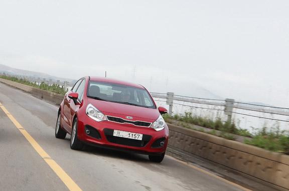 Al volante del nuevo Kia Rio