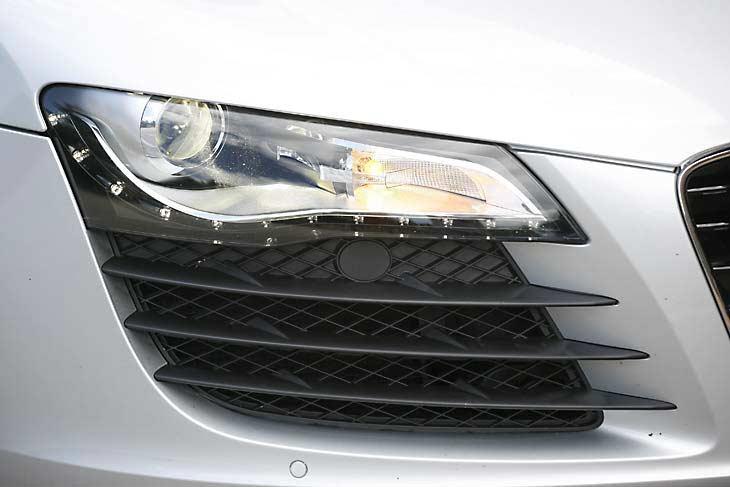 Detalles del Audi R8