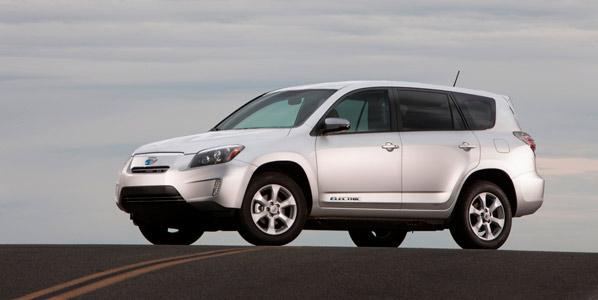 El Toyota RAV4 EV eléctrico ya es realidad