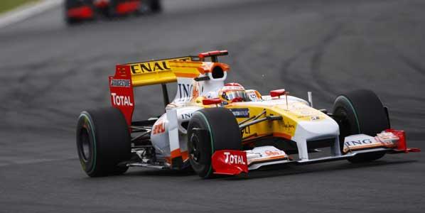 Alonso se ve en el podio de Monza