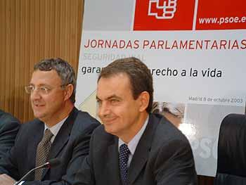 """Zapatero: """"seremos implacables con la violencia vial"""""""