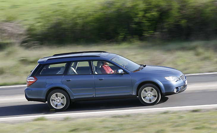 Subaru Outback: detalles