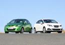 Mazda 2 1.3i 3p frente a Seat Ibiza 1.6i SC